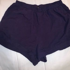 Juniors navy blue shorts